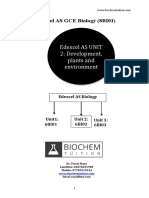 Edexcel as Biology 6BI02