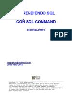 Aprender SQL Con SQL Command Segunda Parte