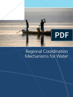 1_Regional Coordination Mechanisms for Water
