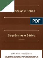 Sequências e Séries