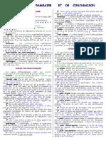 Precis de Grammaire Et de Conjugaison Francaise