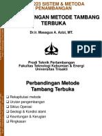 MTT223 Kuliah Ke-6 Perbandingan Metode Tamka MAA HS (1)
