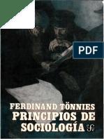 Tonnies, Ferdinand - Principios de sociología.pdf