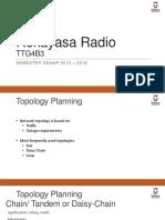 05 Radio Engineering - Topology Planning