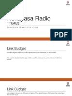 08 Radio Engineering - Link Budget