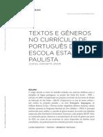 ZANCHETTA JR., Juvenal. Textos e Gêneros no Currículo de Português da Escola Estadual Paulista.pdf