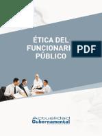 1. Etica del funcionario público.pdf