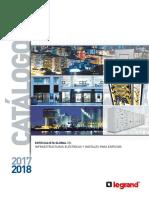 201704 Legrand Catálogo General 2017-2018 Es