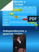 Linea Del Tiempo Independencias y Guerras Civiles 4
