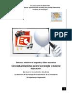 Conceptualizaciones Sobre Tecnología y Material Educativo