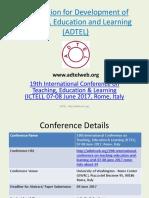 Rome- Ictel 2017