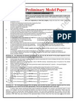 SBI PO's Prelims Model Paper 2016
