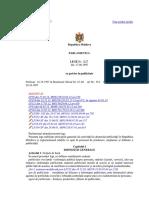 LEGE Nr.1227 Din 27.06.1997 Cu Privire La Publicitate