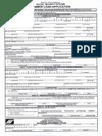 SSS Loan Form