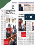 Dictan 18 meses de prisión preventiva contra gobernador del Callao Félix Moreno