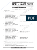 Sbi Po's Main Model Paper6