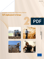 Self-employment in Europe
