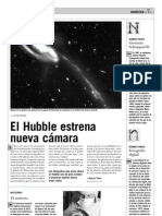 El Hubble estrena nueva cámara