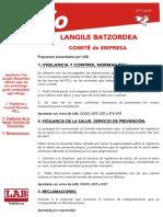 Langile Batzordea Apirila-2017