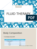 Fluid Therapy 5