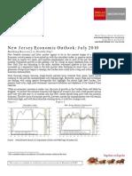 New Jersey Economic Outlook-JUL 2010