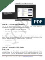 androidStudio_BasicInstallationSteps