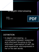 Rd300 In-depth Interviewing.ppt