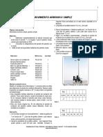 Péndulo Simple y Sistema Masa-Muelle