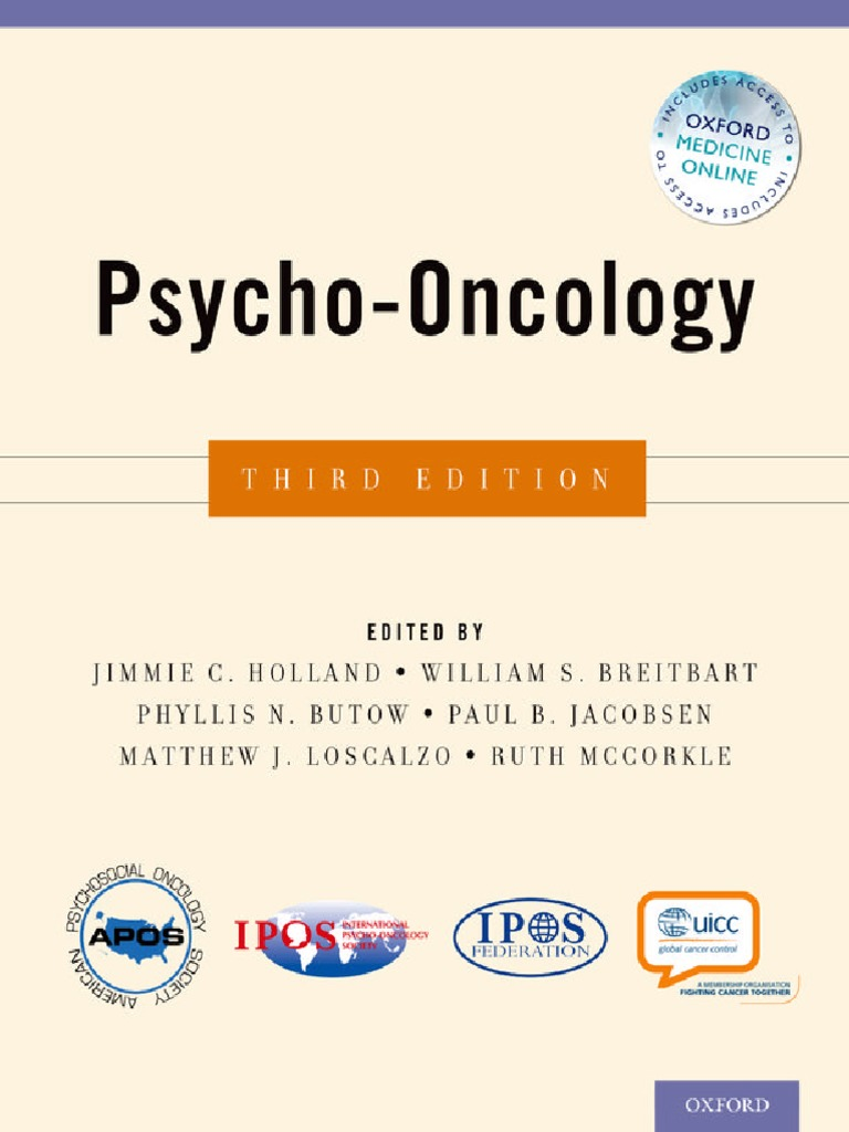 Psycho oncology 3rd edition2 doctor of medicine clinical trial fandeluxe Images