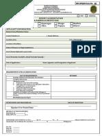 App Form New Grower/Farmer BPI-PQS