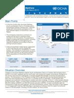 Ocha Situation Report 35 Hurricane Matthew Haiti 04 March 2017