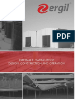 ERGIL's Internal Floating Roof Design, Construction and Operation