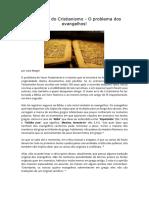 025_Por Dentro Do Cristianismo - O Problema Dos Evangelhos