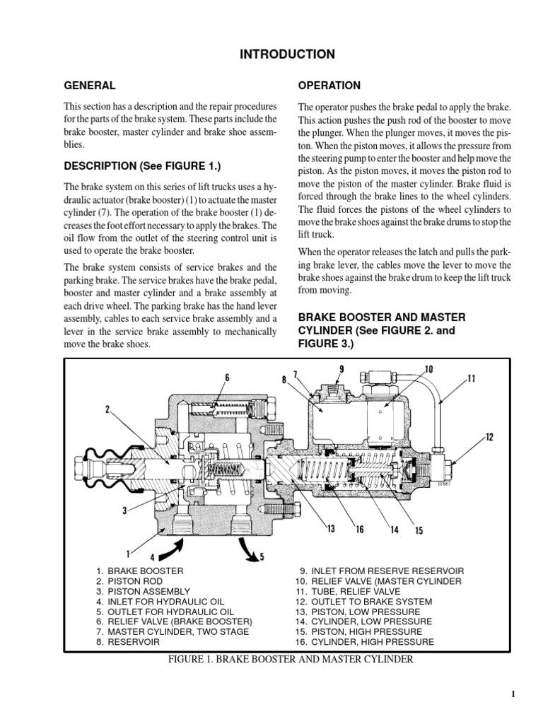 The Brake System Valve Monotrol Pedal Wiring Diagram