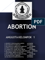 Abortion Group 1