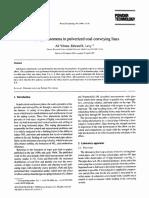 Roping Phenomena in Pulverized Coal Convey