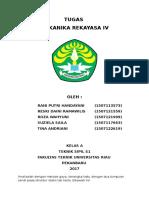 Tugas Mekanika Rekayasa IV - Kelas A