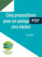Propositions Quinquennat ZeroWasteFrance