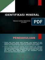 Ppt Identifikasi tekstur Mineral