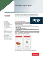 Oracle Sales Cloud Analytics Ds