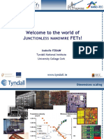 Ferain - Junctionless Transistors