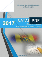 Catalogul Documentelor Normative in Constructii 2017 Editia I