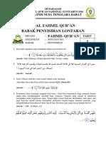 Paket Soal Fahmil Qur'an