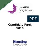 Internship Candidate Pack