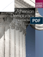 Athenian Democracy_ a Sourcebook (Bloomsbury Sources in Ancient History)