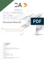 II PEUCA Documento Resumen -V. 3.0- Marzo