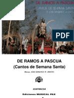 De Ramos a Pascua (Cantos de Semana Santa) Padre Josico