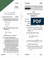 Mathematics III Eas 301