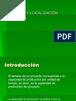 Cap 4 Tamano y Localizacion Del Proyecto