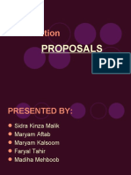Short Proposals Maryam